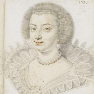 폴란드 왕녀, 마리 드 곤자그의 초상