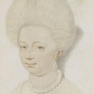 프랑스 왕비 루이즈 드 로렌의 초상