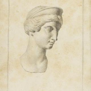 로마 황후의 두상
