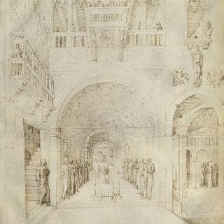 베네치아 화려한 왕궁에서의 성모의 죽음