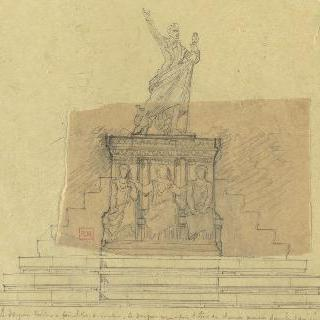 라마르틴 기념비 초안 이미지