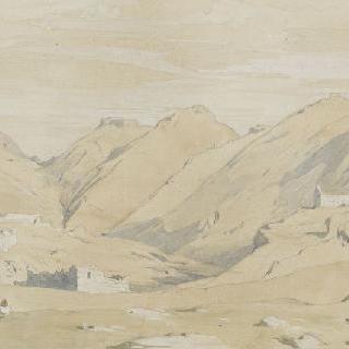 솔리, 마을과 키아파 성의 전경