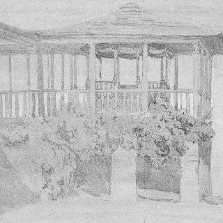 아토스 산, 카리에의 궁정 장교의 정자