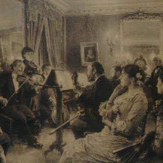 아모리 뒤발댁에서의 음악 파티