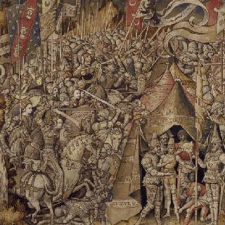 트로이 전쟁 : 펜테실레리아의 도착과 여전사들의 전투