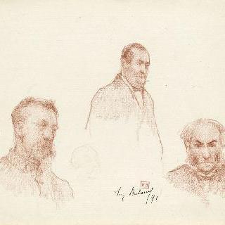 남자들의 세 가지 초상