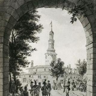 1807년 5월 단치히의 벡셀문드 항구의 내부 전경