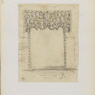 화첩 : 아빌라의 건축 상세 묘사
