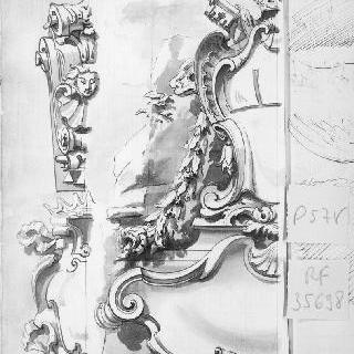 건축 장식의 3가지 소재 : 화관, 왕관과 인물의 두상