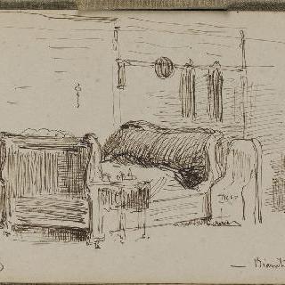 화첩 : 1864년 6월 24일 비아리츠의 내부 전경