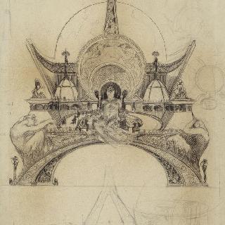 1900년 파리 세계 박람회의 인간관의 계획안