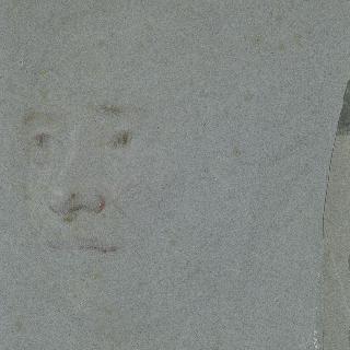 좌측 방향의 얼굴 초벌화