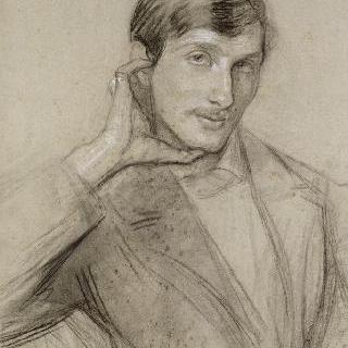 페르난드 오크세의 상반신 초상