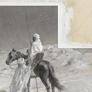 말을 타고 밤에 떠나는 안타르
