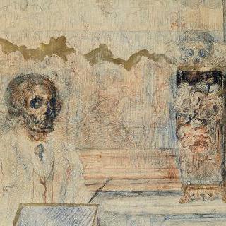 부패된 예술가 또는 죽음의 머리