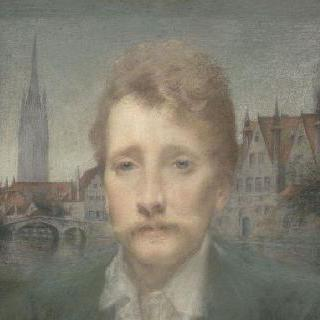 조르주 로덴바크의 초상 (1855-1898), 벨기에 시인 이미지