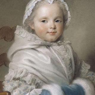 니콜 리카르의 어린 시절 초상