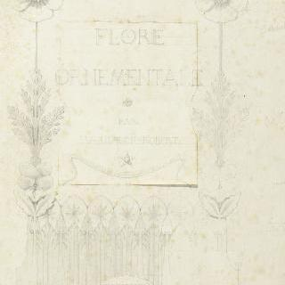 장식된 식물군의 표제