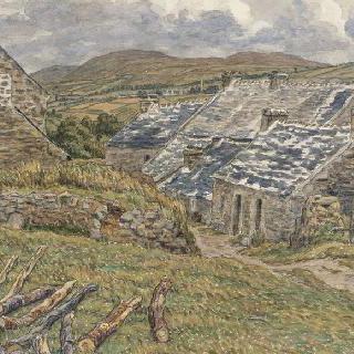 성 니크의 펜트레즈 모래사장 근처의 작은 마을