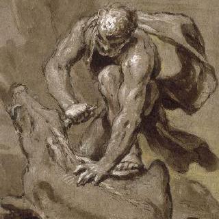 헤라클레스와 에리망트의 멧돼지