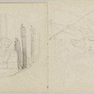 1882년-1889년경 크로키 화첩 : 베니스 습작