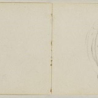 1882년-1889년경 크로키 화첩 : 백지 : 원형 저부조 습작