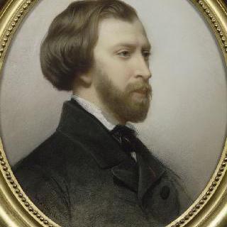 알프레드 드 뮈세의 초상 (1810-1857)