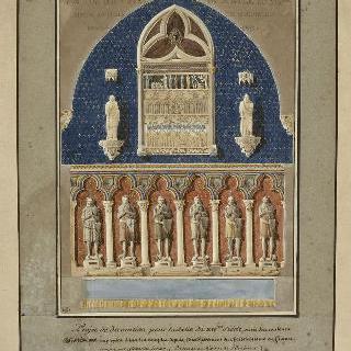프랑스 기념물 박물관 : 14세기관의 계획안