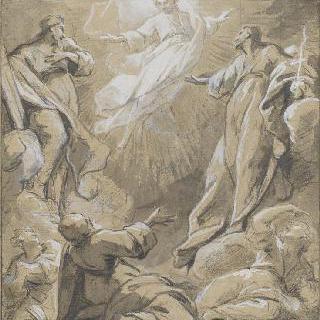 여러 사도와 성녀들에게 나타난 예수 그리스도