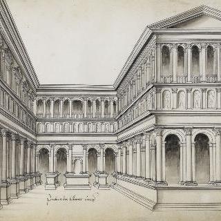 로마 법원의 구내