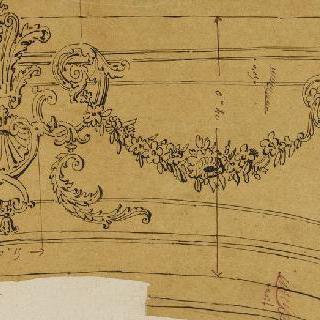 여러 가지 부분 묘사, 발코니 : 내장판 장식