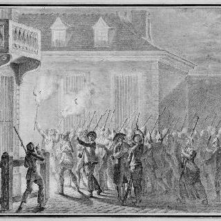파리를 지킨 민중들 (1789년 7월 12일 ~ 13일 밤)