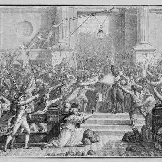 파리 시장 드 플레셀의 죽음 (1789년 7월 14일)