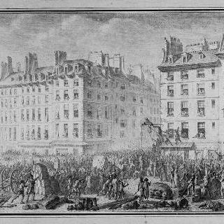 그레브 광장에서의 풀롱의 형벌 (1789년 7월 23일)