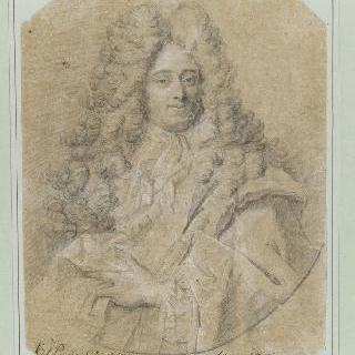 남자의 상반신 초상
