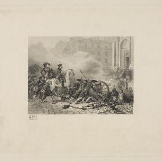 왕정주의자들을 쳐부수는 생 로슈 앞의 보나파르트, 1795년 10월 5일