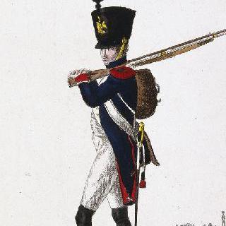 프랑스 부대 : 황실 수비대, 총수 엽기병