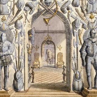 생 페테르스부르그의 P. 솔티코프 왕자의 무기와 갑옷 보관실