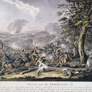 프리랑 전투, 1807년 6월 14일