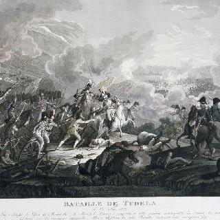 투델라 전투. 1809년 11월 23일