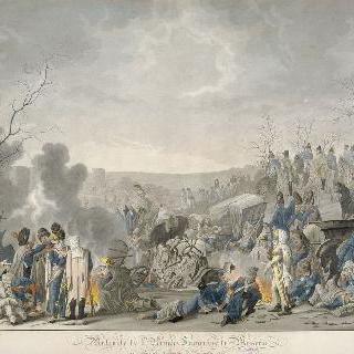 모스크바에서 후퇴하는 프랑스 군대, 1812년 11월 12월
