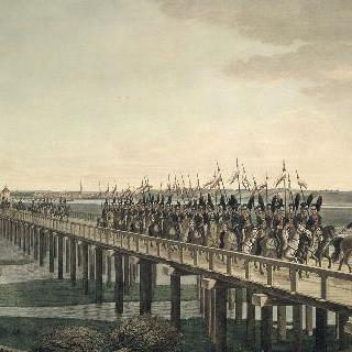 함부르크와 하부르크를 잇는 엘베 다리
