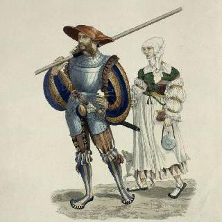 1520년경의 랑크네와 그의 아내