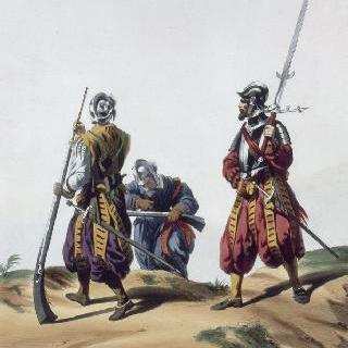샤를 9세 휘하의 랑크네, 1562년
