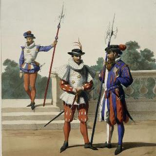 수비대와 친위대 궁수들, 앙리 3세, 1580년