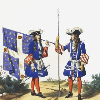 프랑스 수비 연대, 1697년