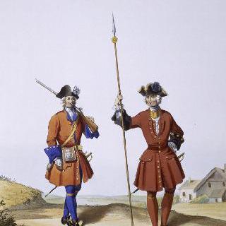 1724년의 외국 보병대