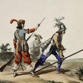 루이 13세 치하의 프랑스 수비 연대, 1647년