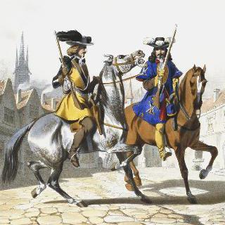 경찰대, 1660년
