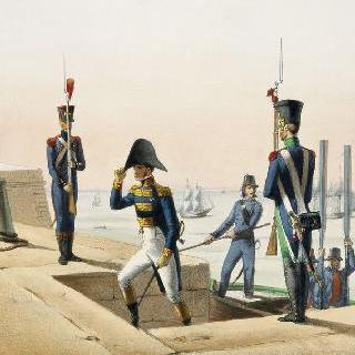 해군 : 작업병, 함장, 선원, 포수 - 1808